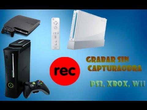 TUTORIAL Cómo grabar la pantalla de la Ps3 Xbox360 y Wii SIN CAPTURADORA DVD player