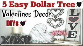 Dollar Tree Diy Valentines Decor | Simple & Easy DIYs | Momma From Scratch
