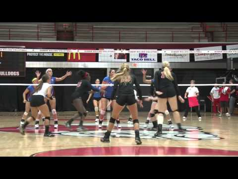 Gardner-Webb Volleyball: Presbyterian College Highlights and Postmatch Comments (10-11-13)