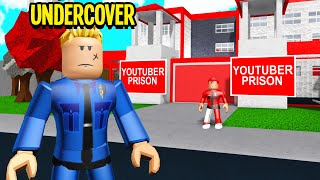 This Prison Trapped YOUTUBERS.. I Went UNDERCOVER And Broke Them Out! (Roblox Bloxburg)