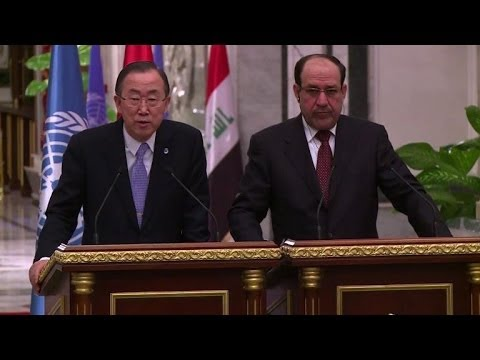 UN's Ban urges Iraq to suspend use of death penalty
