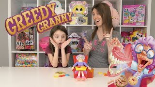 Greedy Granny by Goliath Games! Screaming and Flying Teeth!