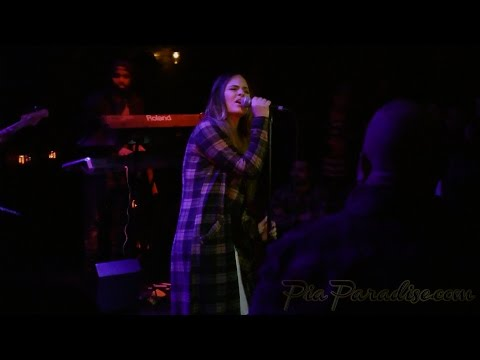 Pia Toscano performs at The Sayers Club - 1/9/15