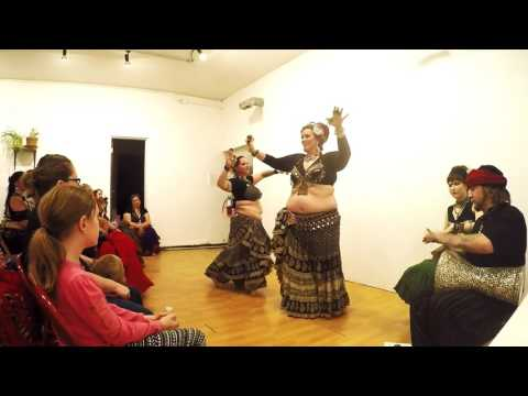 Liz Malcolm & Angie Never  Tribal University 2017