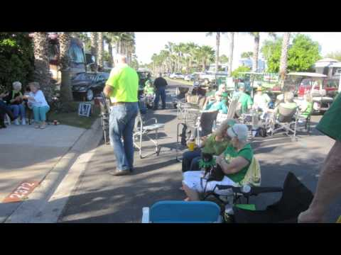 2014 Sheffield Street St Patrick's Day Party Victoria Palms Donna Texas