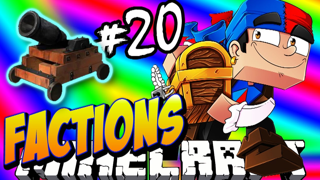 """Minecraft FACTIONS #20 'BELLY BUSTER CANNON!' - Treasure Wars S1 <a href=""""http://t.co/Uo7u3A351e"""" class=""""linkify"""" target=""""_blank"""">http://t.co/Uo7u3A351e</a>"""