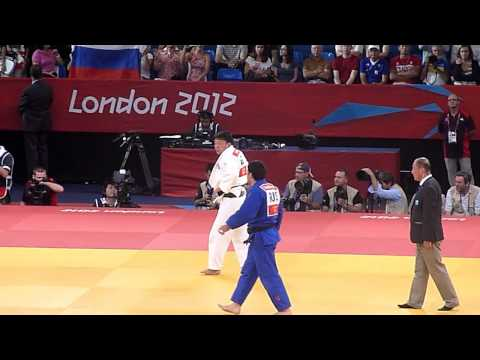 Olympic Judo London 2012 -100kg Final - Khaibulaev RUS bt Naidan MGL