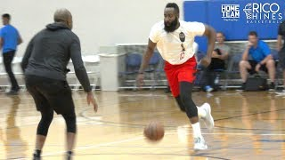 James Harden, Jordan Bell, Kevon Looney, Bobby Brown & Rob Edwards WORKOUT With Rico Hines