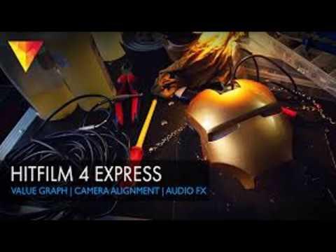 Hit Flim Express 4   Hitfilm 4 express download free   Best video editing software    2017