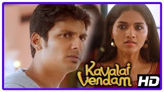 Latest Tamil Movies | Kavalai Vendam Movie Scenes | Jiiva loses his memory | Kajal Aggarwal