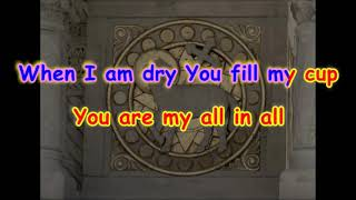 You Are My All In All Karaoke Praise And Worship Instrumental No Vocals