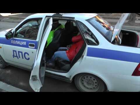 Пьяная автоледи на Володарского. Место происшествия 06.07.2015
