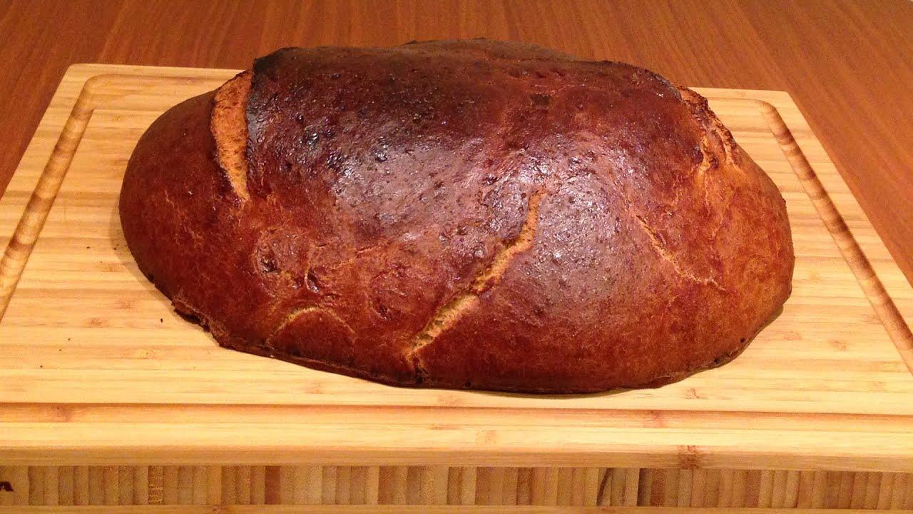 Деревенский хлеб домашний рецепт