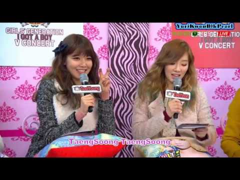 [ENG] SNSD Naver V Concert Talk Cut Part 1 1/3