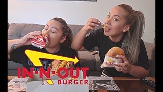 IN-N-OUT MUKBANG!!! (RIRI'S FIRST TIME TRYING)