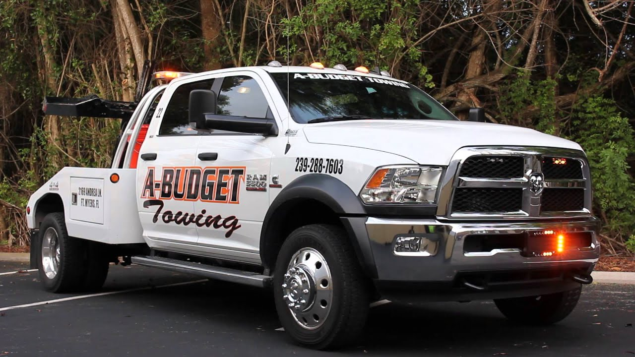 A Budget Towing Dodge Ram Tow Truck Lighting Package Youtube