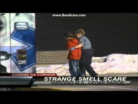 Mystery odor Harding Middle School, Cedar Rapids,IA