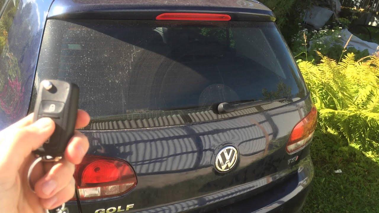 Как сделать багажник с автооткрыванием