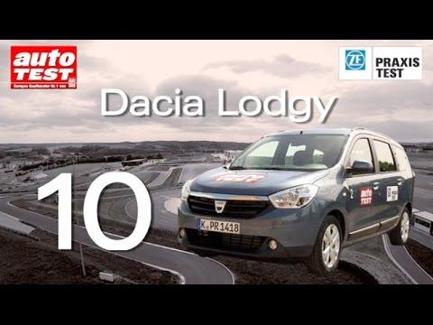 Der ZF Praxistest 2014 - Platz 10 Dacia Lodgy