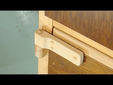Making wooden hinges