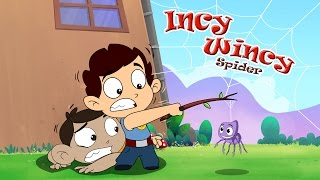 Incy Wincy Spider | Itsy Bitsy Spider | Popular Nursery Rhymes by Laughing Dots kids nursery rhymes