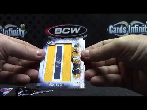 2012/13 Panini PRIME Hockey 8 Box Case Break GB 2 TWO