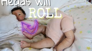 Doll For Repair! TIME TO GO HOME! Reborn Baby Doll Gets a MAKEOVER