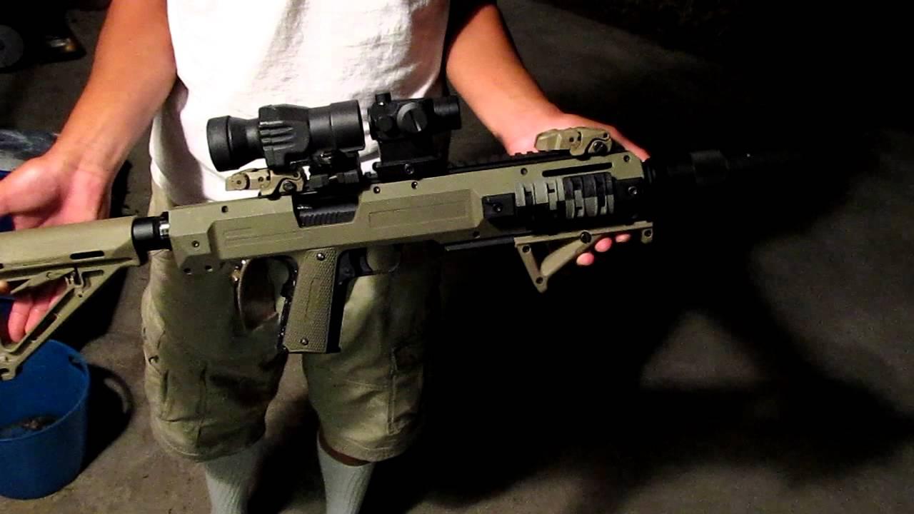 Carbine Conversion Kit For 1911 X-factor 1911 Carbine Kit