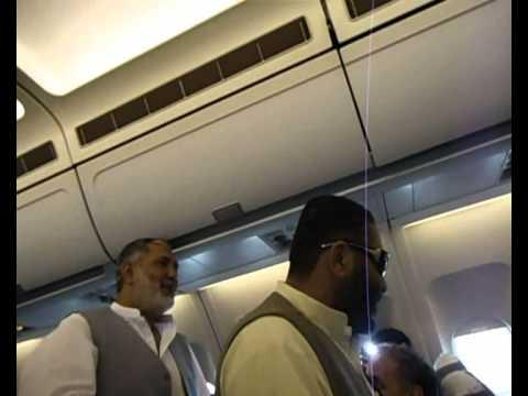hassan pashto funny in aeroplane