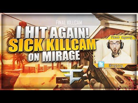 SICK KILLCAM ON MIRAGE!! (BO2 Clips & Funny Moments)
