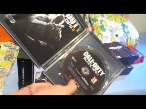 Black Ops 2 Hardened Edition Unboxing for Xbox360 & PS3 (I finally got it!!!)