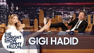 Download Lagu Gigi Hadid Gives Jimmy the Only Men's Pair of Her EyeLoveMore Mules Gratis STAFABAND