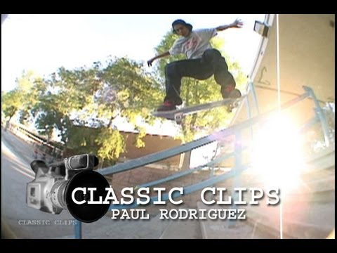 Paul Rodriguez Skateboarding Classic Clips #50 P-Rod City Stars