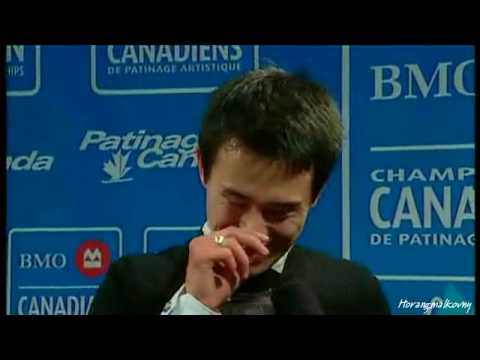 ☆ 20100117 BMO Canadian Championships : Patrick Chan Post FS Interview (Video from CBC.ca)