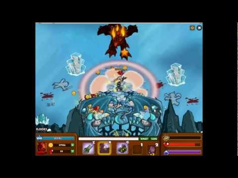 Dungeon Rampage Level 100 Dragon Knight Soloing Ice Dragon