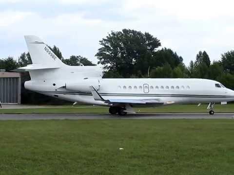 Dassault Falcon 7X N999BE Formula 1 Flight Operations Bernie Ecclestone