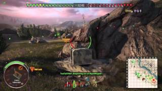 World of Tanks Xbox One: FV4005 Stage II Gameplay #2