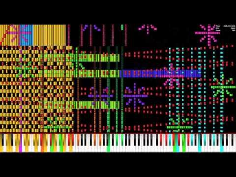 Let it Go 260k【BLACK MIDI】(Impossible Piano Version)