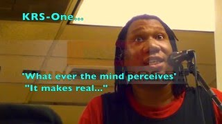 "KRS One ""What the Mind Perceives"""