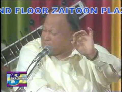 Nusrat Fateh Ali Khan Gazal-Beheed Main Ik Ajnabi ka samna Acha...