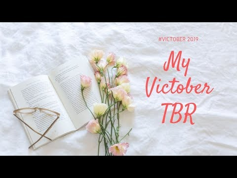 My (late) #Victober 2019 TBR