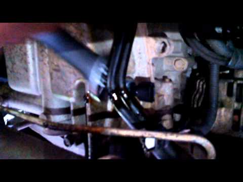 how to change a oil pressure sender switch on 2005 nissan frontier.....