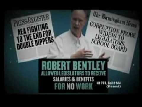 Bradley Byrne's First Robert Bentley Attack Ad