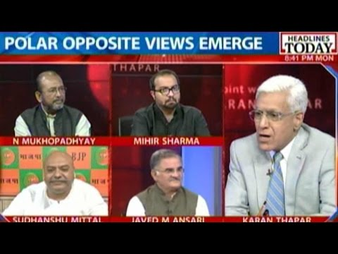 To The Point: What Explains Shourie's Take On Modi Govt?