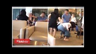 Xôn xao clip vợ bắt tại trận chồng ôm hôn bồ nhí ở sân bay, chuẩn bị đưa nhau đi 'công tác'