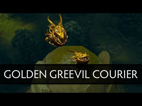 Dota 2 Golden Greevil Courier (How to get him)