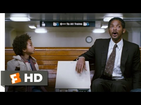 The Pursuit Of Happyness (7/8) Movie CLIP - The Time Machine (2006) HD