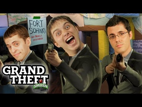WE START A GANG WAR (Grand Theft Smosh)