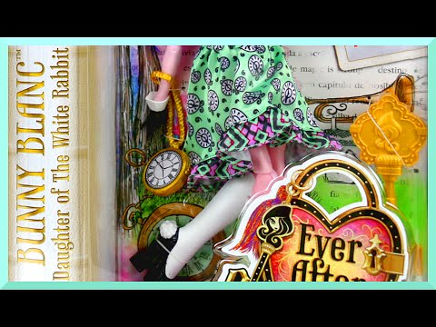 Ever After High - EAH Bunny Blanc Doll Review - Daughter of White Rabbit