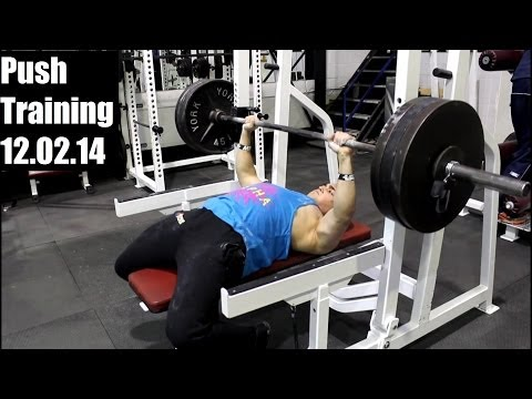 320lbs Bench Press for Reps (@181 lbs): Chest Training 12.02.14 Image 1